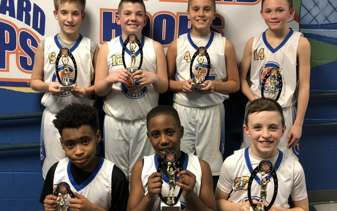 5th Grade Blue – Champions Play Hard Hoops Feeder League Regular Season