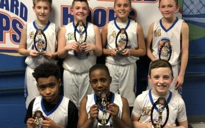 5th Grade Blue – Champions Play Hard Hoops Feeder League Regular Season