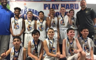 6th Grade – Champions Of Play Hard Hoops Feeder League Tournament 2018