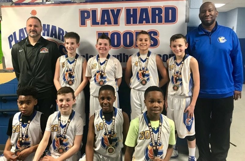 5th Grade Blue – Champions Of Play Hard Hoops Feeder League Tournament 2018
