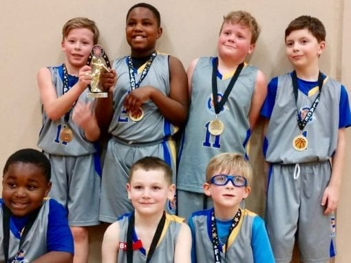 3rd Grade Grey – Champions Of Play Hard Hoops Feeder League End Of The Year Tournament