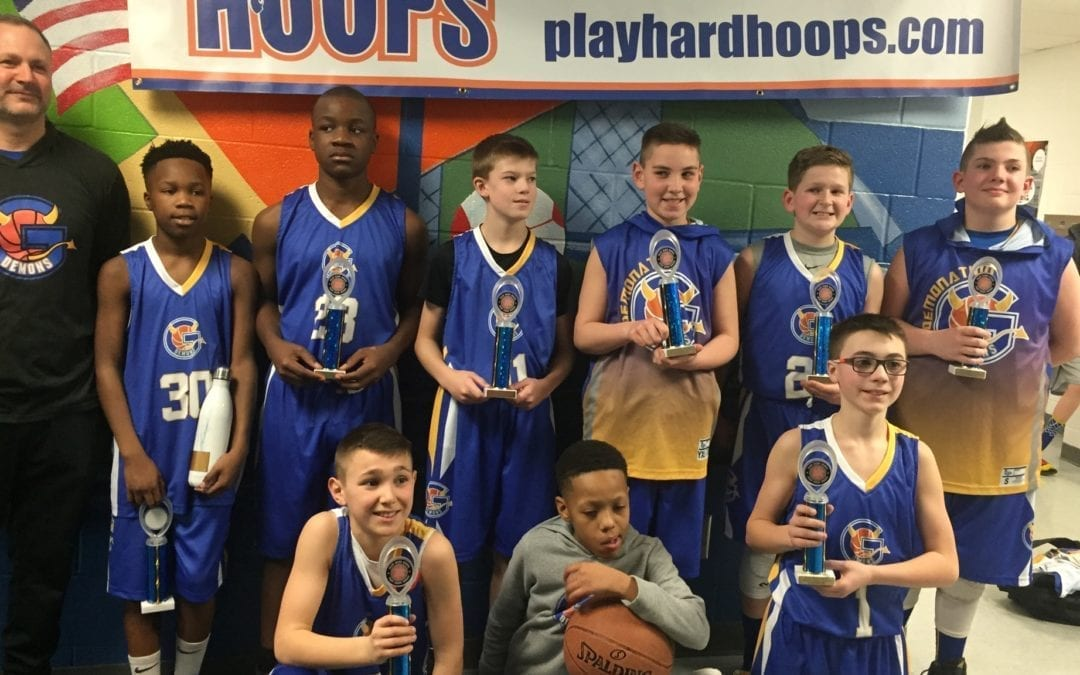 6th Grade Blue – Champions Of Play Hard Hoops Feeder League