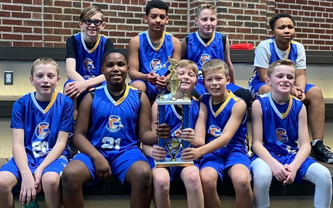 5th Grade Team Champions Of Evanston New Year's Feeder Tournament