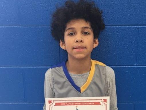 AJ Nixon – 6th Grade Blue – PHH Feeder League Player Of The Week Sunday, January 19th